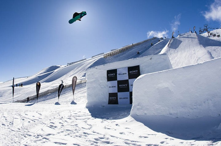 Antti Autti at the Billabong Slope Style 2011