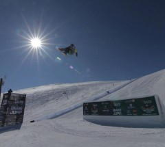 Slopestyle finals, Burn River Jump 2012