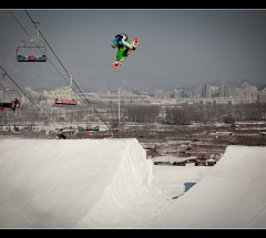 Nick Brown at the Red Bull Nanshan Open 2010