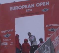 Arielle Gold's Winning Run at the Burton European Open 2013