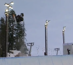 Scotty James   Semi Final run at the Arctic Challenge Halfpipe 2013   YouTube