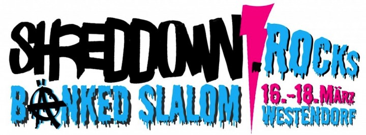 SHRED DOWN ROCKS – Back to the Roots – SDR Banked Slalom!
