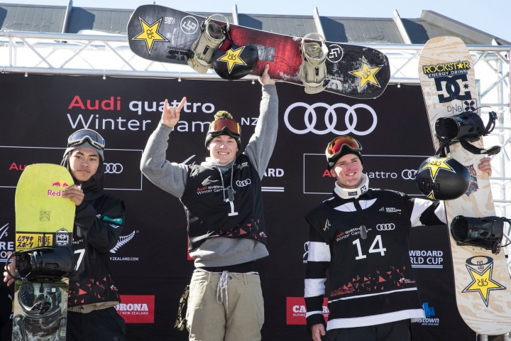 Chris Corning & Reira Iwabuchi Win World Cup Gold on Spectacular Final Day at Winter Games NZ