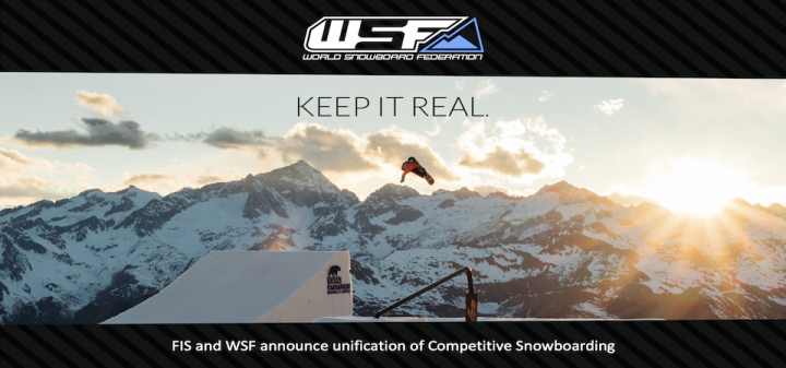FIS and WSF announce unification of Competitive Snowboarding