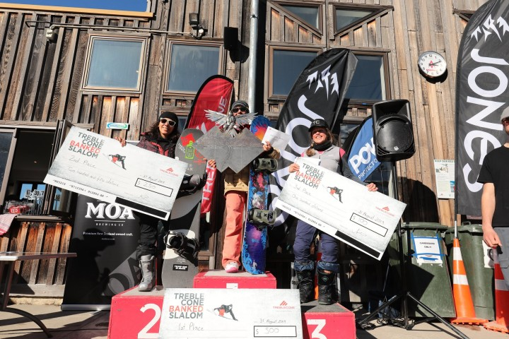 Report: Treble Cone Banked Slalom 2019