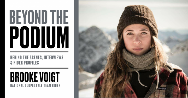 Canada Snowboard's Beyond the podium: Brooke Voigt