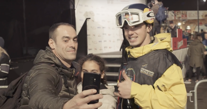 Mark McMorris takes you behind the scenes of Modena World Cup 2019