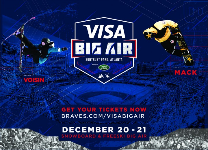 First riders confirmed for Visa Big Air 2019 at SunTrust Park in Atlanta