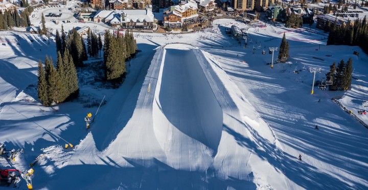 Copper Mountain ready for halfpipe World Cup