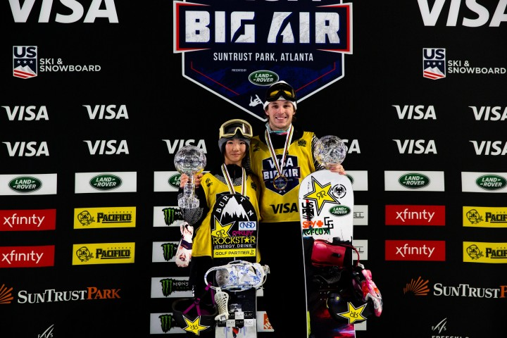 Corning and Iwabuchi take Atlanta Big Air World Cup 2019 wins