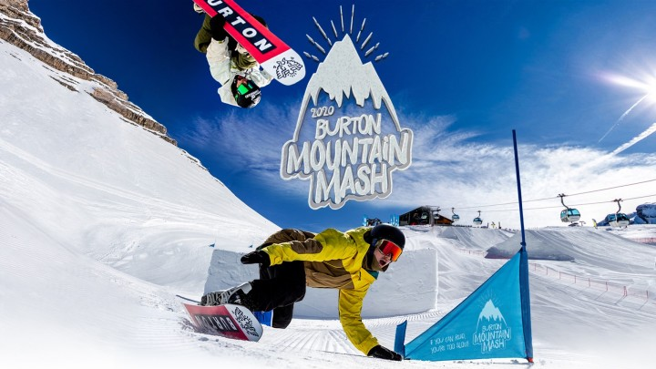 Burton Mountain Mash 2020 in Italian Madonna Di Campiglio is coming close