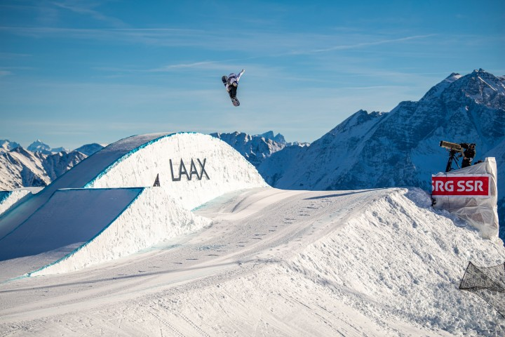 LAAX OPEN 2020 slopestyle finalists are determined! Red Gerard & Reira Iwabuchi lead the pack