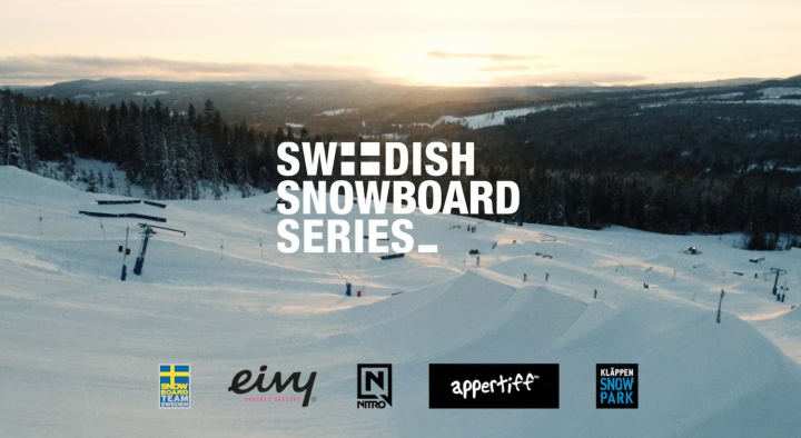 Kläppen will host the second stop of Swedish Snowboard Series
