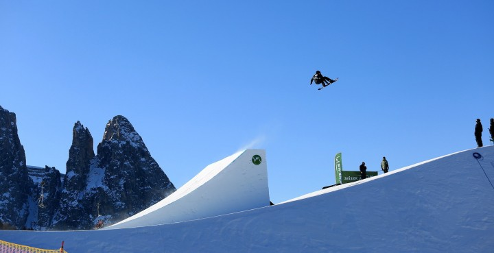 Slopestyle World Cup in Seiser Alm kicks off today