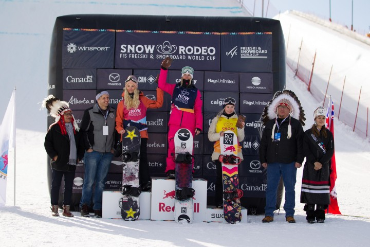 Blouin and Collins take World Cup wins at Snow Rodeo slopestyle in Calgary