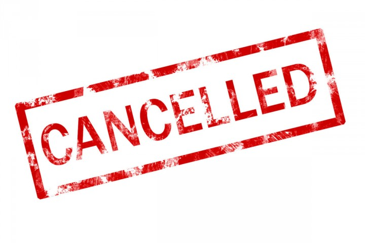 Following snowboarding events cancelled due to Coronavirus