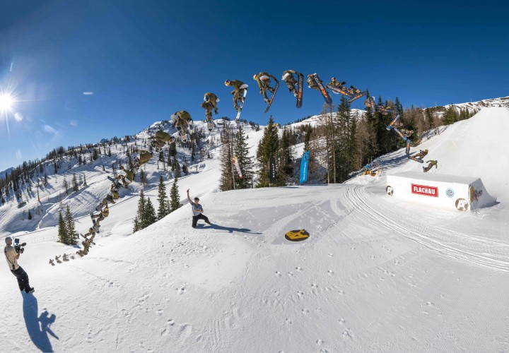 World Snowboard Federation (WSF) and Absolut Park in Flachauwinkl (AUT) teamed up for Spring Battle 2021